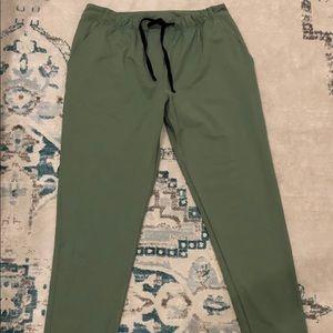 Lulu Olive Pants
